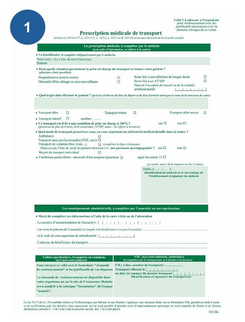documents à fournir bon-transport-cpam